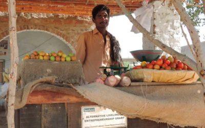Livelihood initiatives for vulnerable farmers (Pakistan)